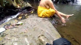 Fucking Indian Bhabhi Near Waterfall Forest