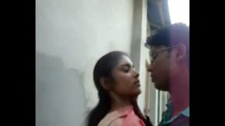 Indian Young Bengali Couple xxx Sex At Outdoor With Audio