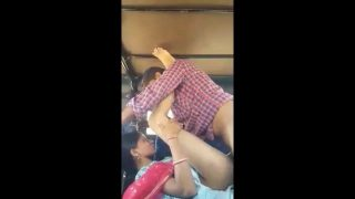 Cute Indian bhabhi hardcore fucked by lover in truck