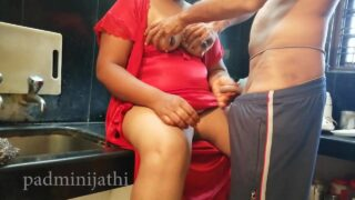 xnxx housewife with servant fucking in the kitchen