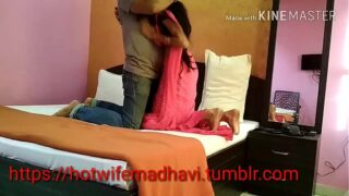xxx Indian teen porn pussy hard fucked in hotel sex mms scandal