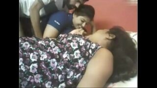 Desi office girls xxx threesome sex with senior boss