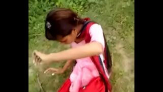 desi girl outdoor sex with hindi audio dehati sexy video