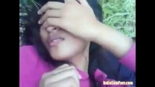 bengali horny young teen girl outdoor sex MMS with boyfriend