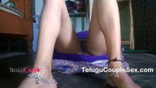 Telugu couple xxx horny wife hard sex homemade porn video