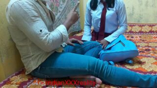 Indian teen school girl home fuck in clear hindi voice