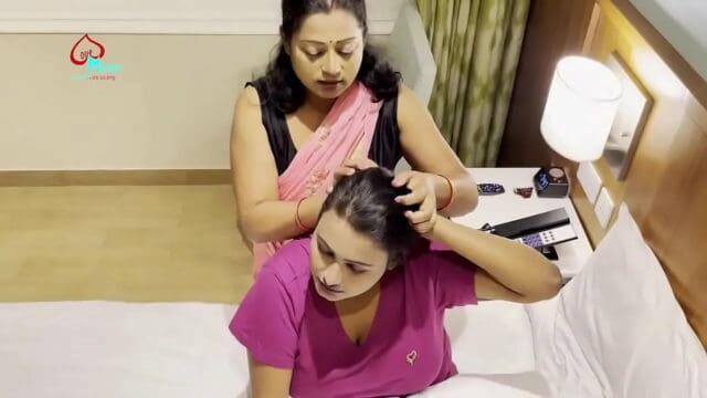 2 hot sexy Indian aunties in hotel private hot sexy xxx lesbian video